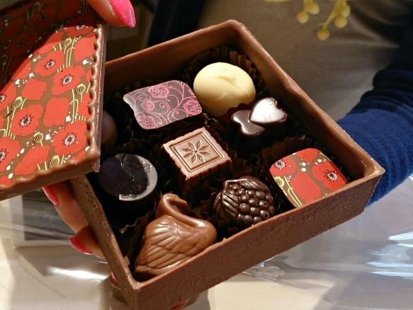 Brügge - Belgische Schokolade