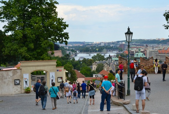 Foto 16 - Blick von Kloster Strahov auf die goldene Stadt