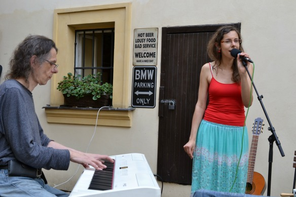 Foto 9 – Jazzmusiker in Prag.
