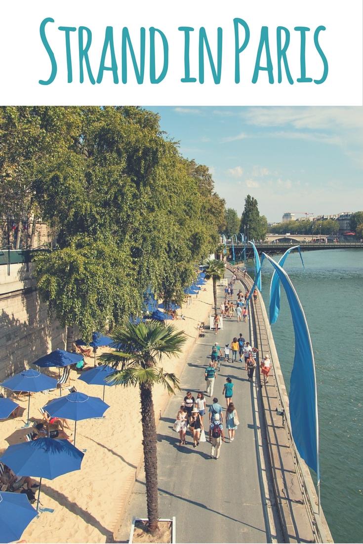 Paris Plages – der Stadtstrand von Paris