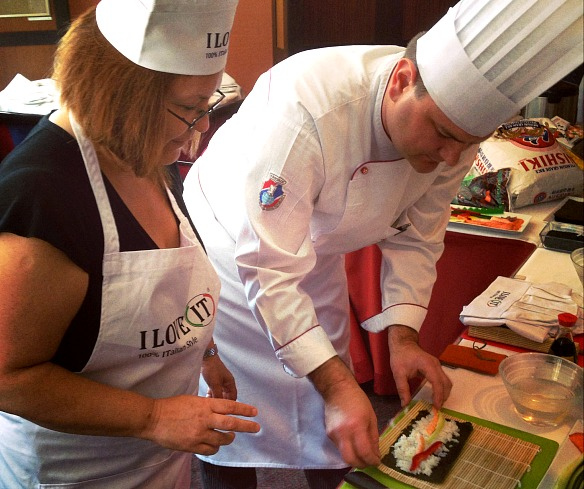 Prag - Sushikurs mit Reiseblogger Pia von Travel on Toast