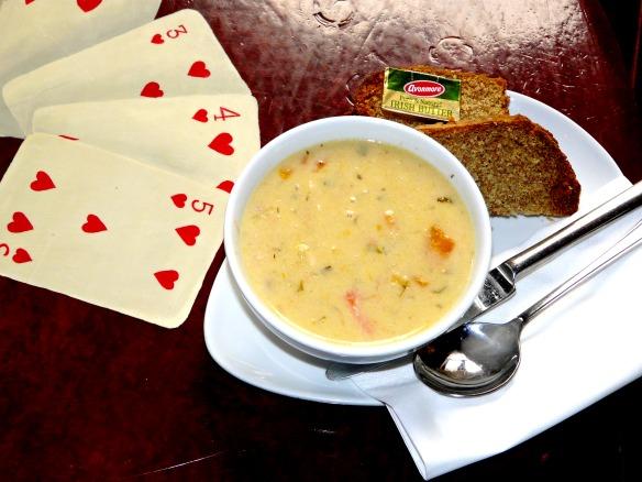 1 Irland Kilkenny - Seafood Chowder