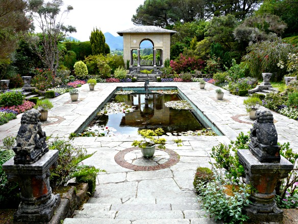 3 Irland - Garinish Island - Garten