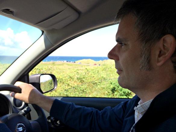 Im Mietwagen fahren