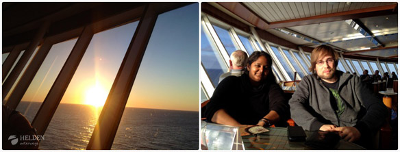 Mini-Kreuzfahrt nach Norwegen