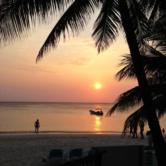 Roatan in Honduras - Sonnenuntergang