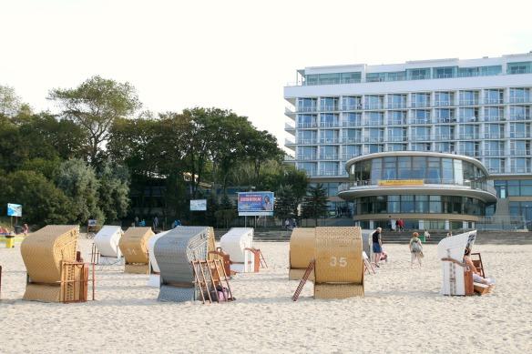 Kolberg in Polen - Strand 2