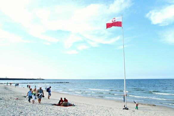 Kolberg in Polen - Strand