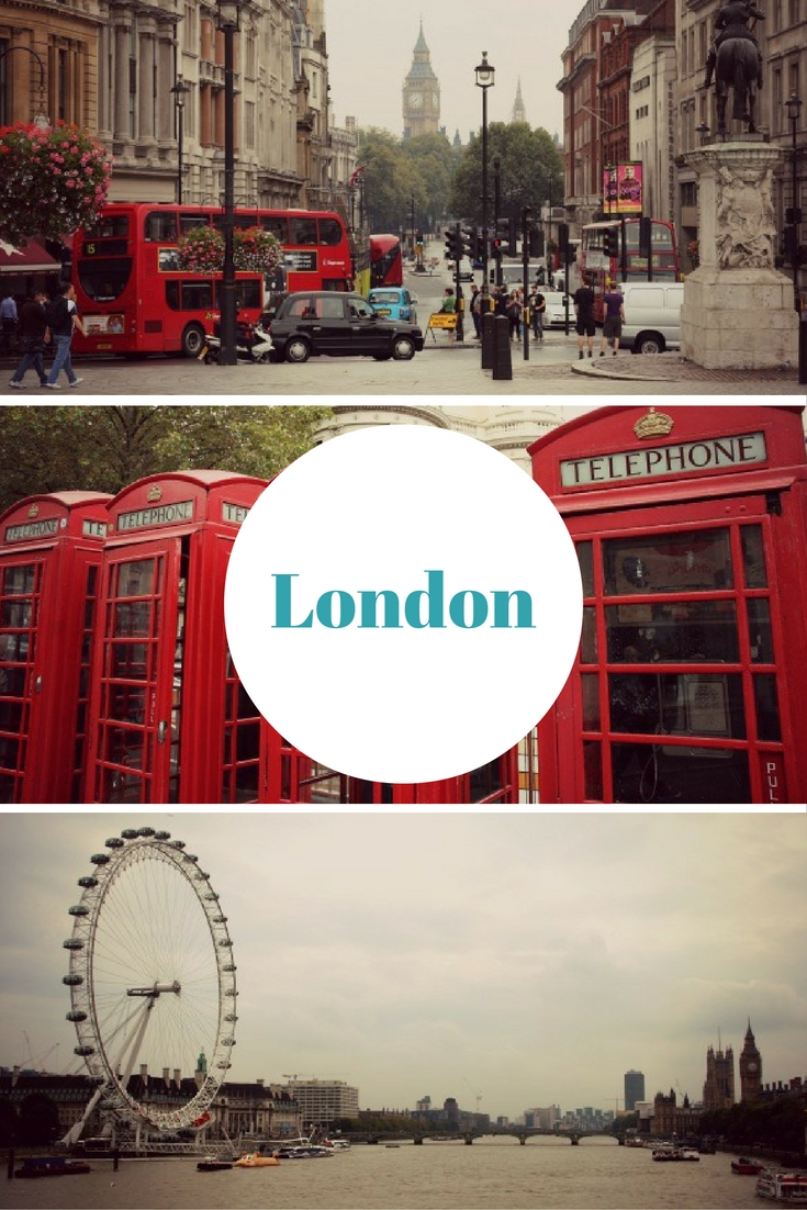 Big Ben & London Eye / London, I love you! 7 Gründe dafür