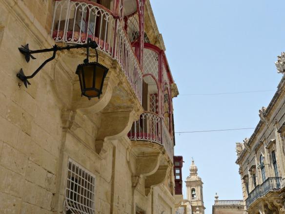 Mdina in Malta - Balkon