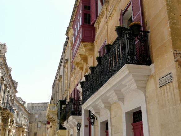 Mdina in Malta - Balkons