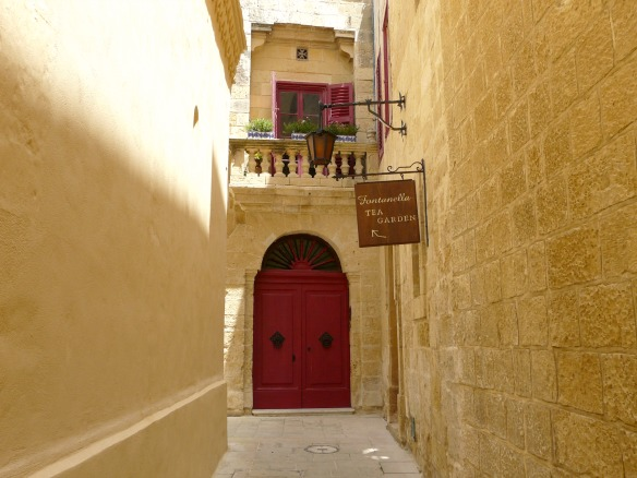 Mdina in Malta - Fontanella Tea Garden