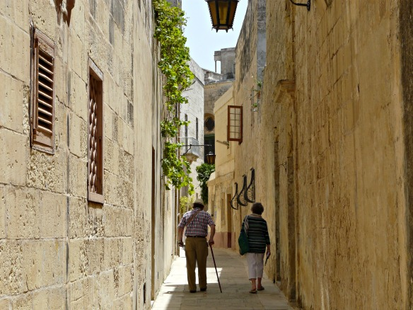 Mdina in Malta - Gasse