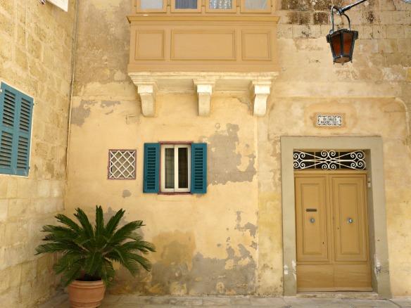 Mdina in Malta - Haus
