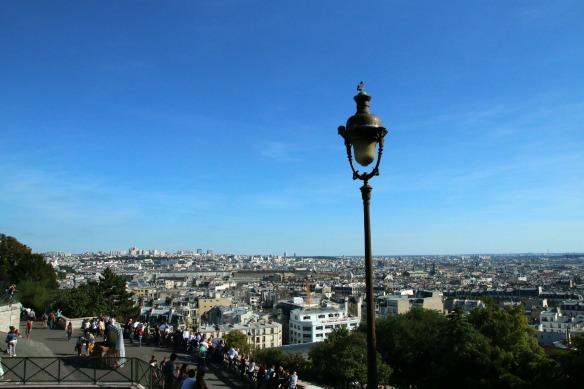 Paris - Ausblick auf die Stadt