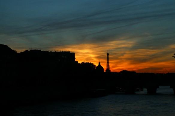 Paris - Sonnenuntergang