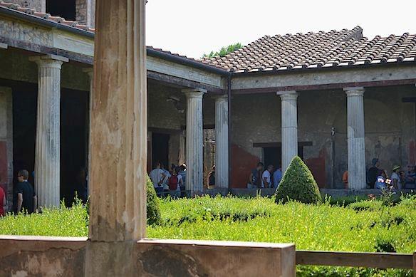 Atrium in Pompei