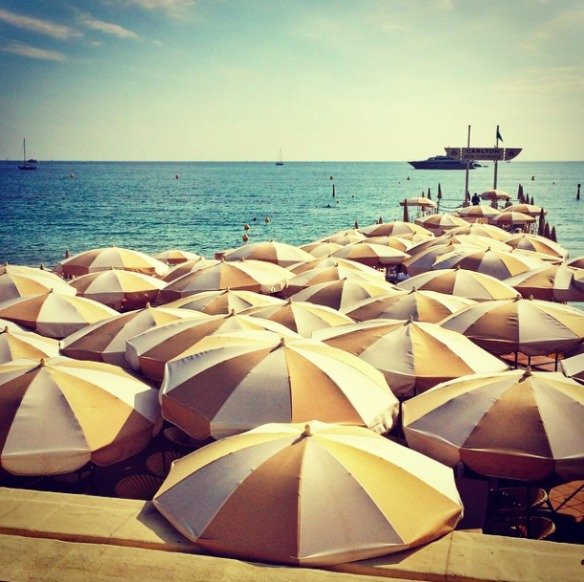 Cannes Croisette Strand