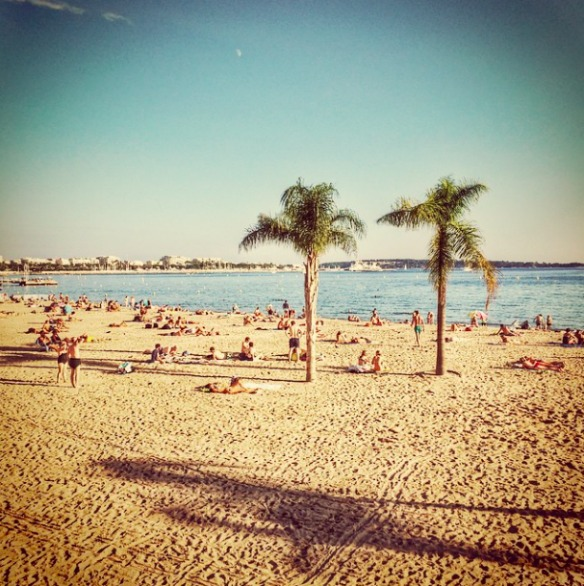 Cannes Strand