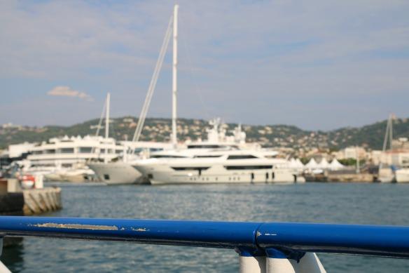 Cannes - Yachten