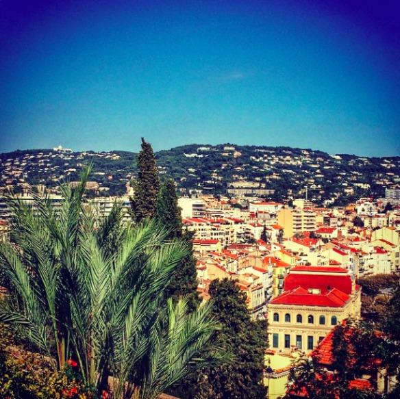 Cannes von oben