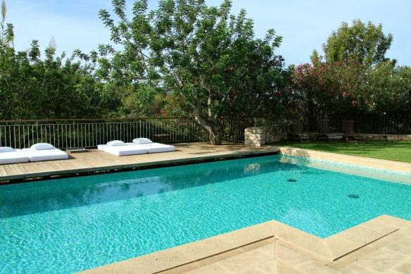 Pool des Hotels Can Lluc Ibiza
