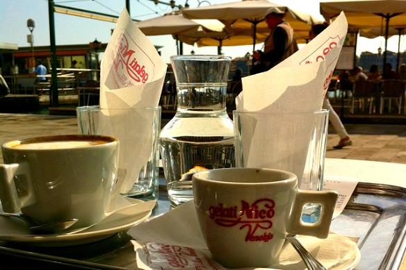 Venedig - Zattere Cafe