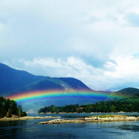 14 Luxushotel in Kanada - Sonora Resort - Regenbogen