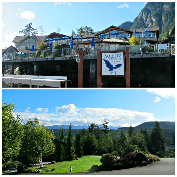 3 Luxushotel in Kanada - Sonora Resort - Gelände