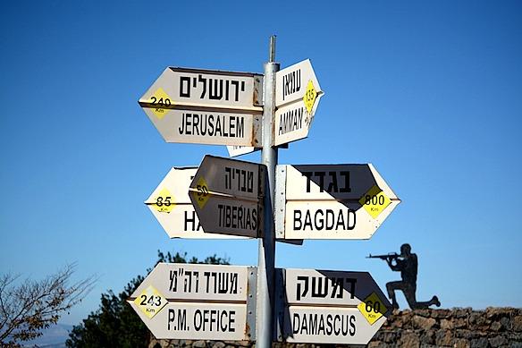 B1 Schilder Staedte - Israel heute