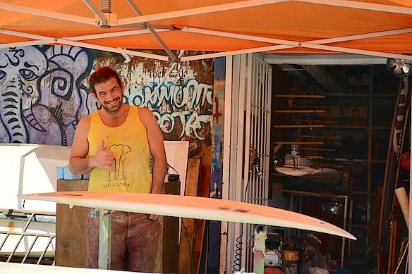 B2 Israel heute - Surflehrer in TelAviv