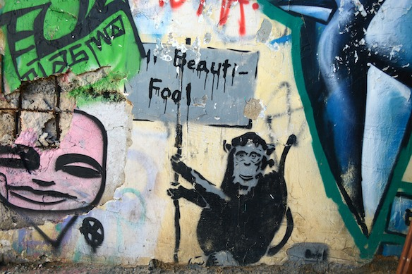 B5 Israel - Graffiti in Tel Aviv