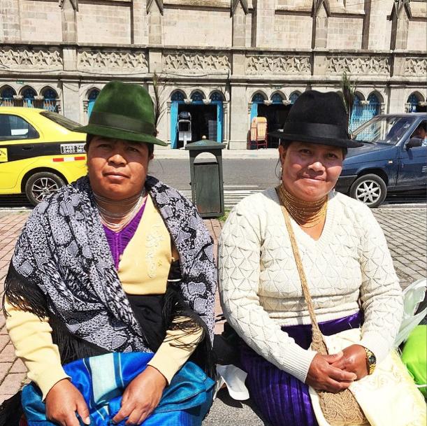 Ecuador - Indigenas - Instagram