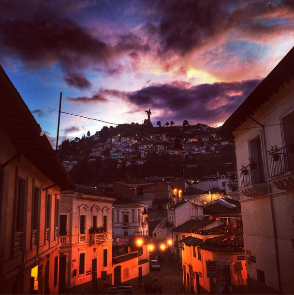 Ecuador - La Ronda in Quito - Instagram