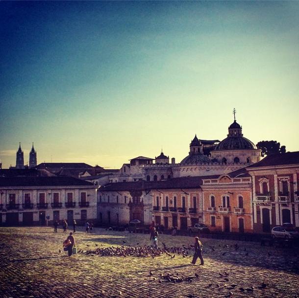 Ecuador - Quito - Instagram