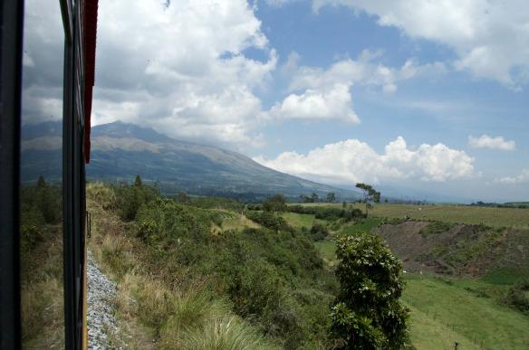 Eine Zugfahrt durch Ecuador