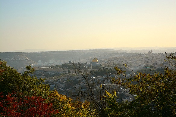 Israel heute - Blick auf Jerusalem