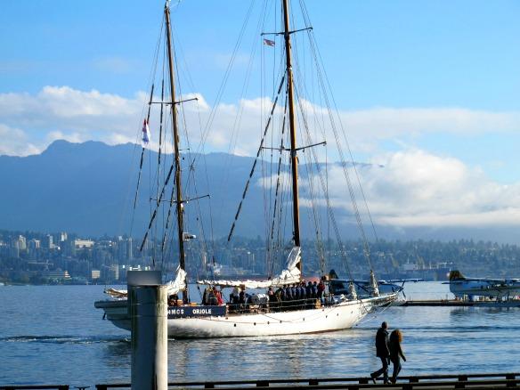 Kanada - Reise nach Vancouver - Schiff