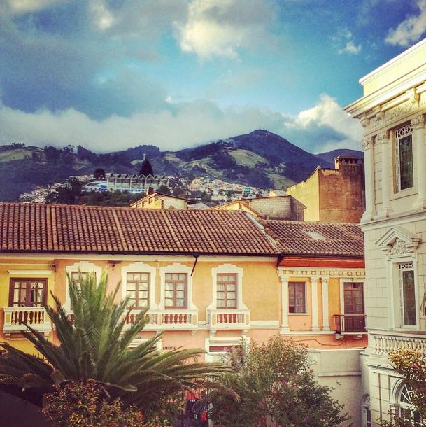 Quito in Ecuador - Instagram