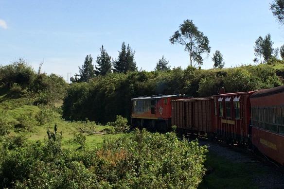 Tren de los Volcanes in Ecuador