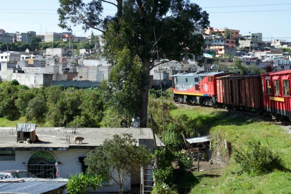 Zugfahrt in Ecuador