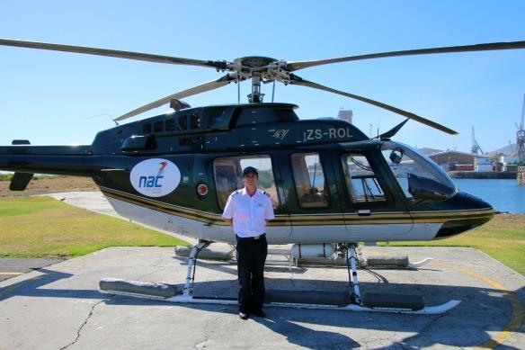 1 Hubschrauber Rundflug Kapstadt - Pilot