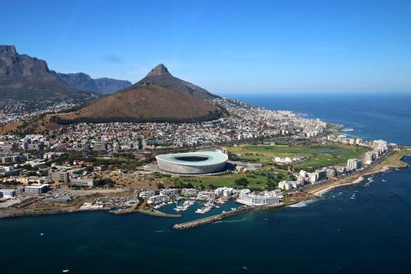 1 Hubschrauber Rundflug -Kapstadt von oben