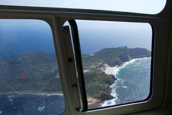 2 Hubschrauber Rundflug Kapstadt - Fensterblick