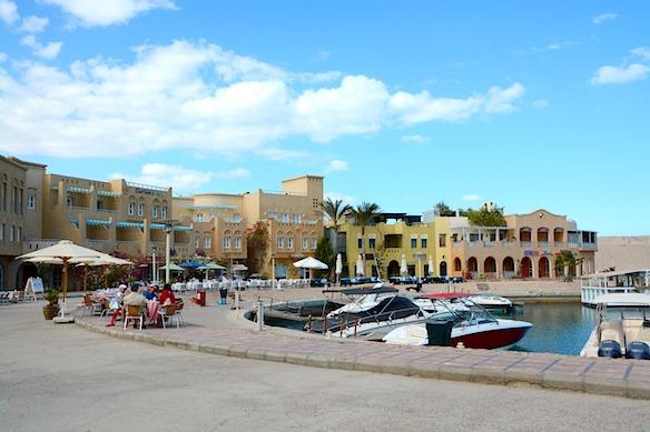 B2 El Gouna Hafen