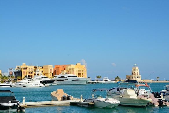 B6 El Gouna Hafen