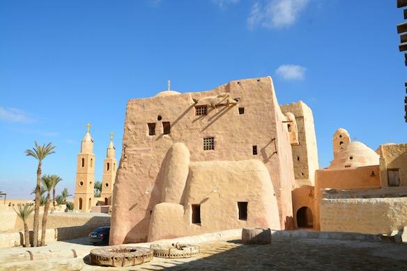 B8 Ägypten Koptisches Kloster