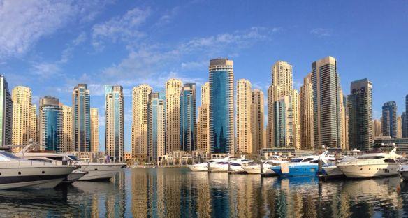Dubai Yachthafen Skyline