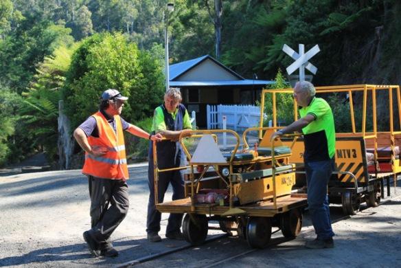 Gleisarbeiter - Walhalla - Australien