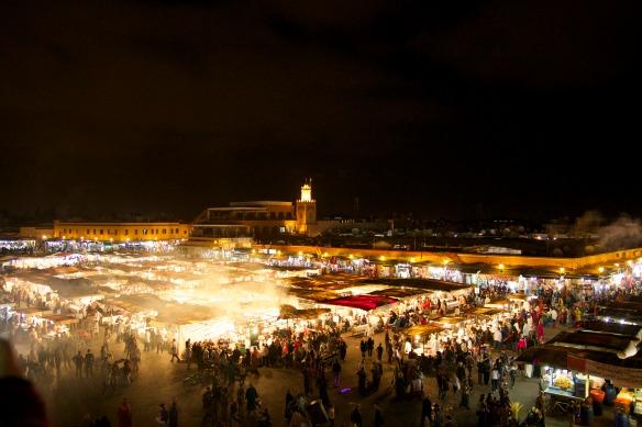 Marrakesch - Djemaa el Fna